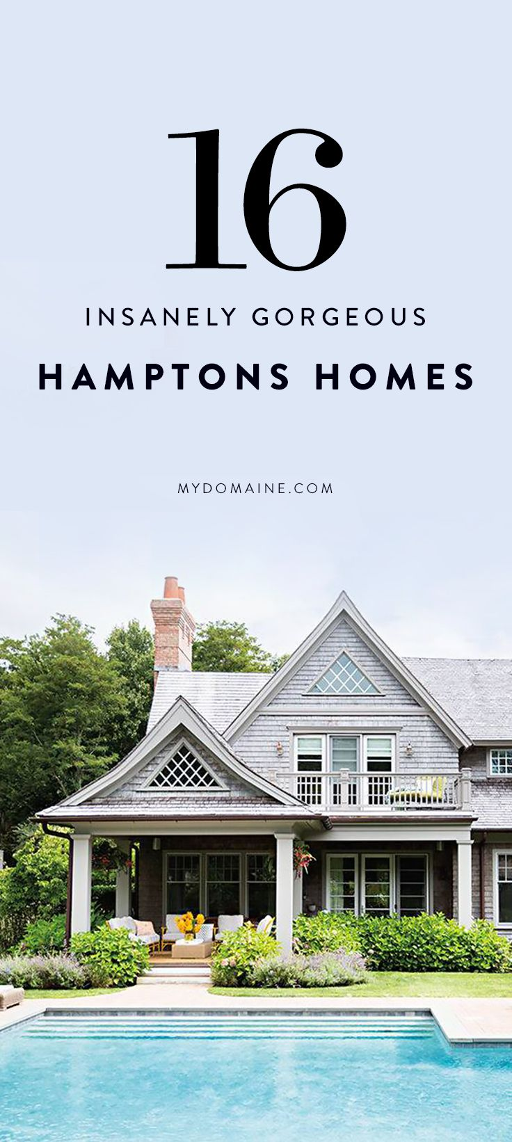 Hamptons beach house with elegant metal screen modern house designs - The Dreamiest Hamptons Beach Homes You Ve Ever Seen