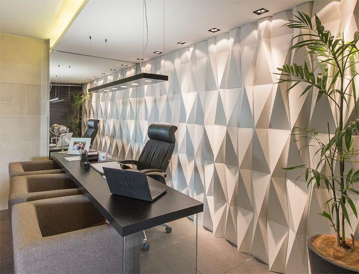 Origami branco - Mostra Aracaju 2014 - Arquiteto Ygor Prudente - Foto: Martha Oliveira. Ambiente Escritório do Advogado, em parceria com a revenda Empório Casa. #Castelatto #MostraAracaju