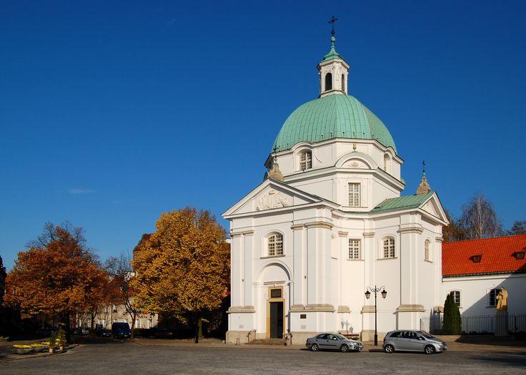 68. Tylman z Gameren, kościół Sakramentek na rynku Nowego Miasta w Warszawie, 1688-92