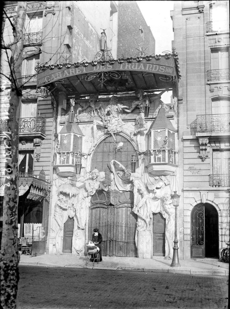 Cabaret des Truands 100 bd de Clichy 1909
