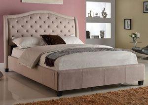 addison upholstered king bed