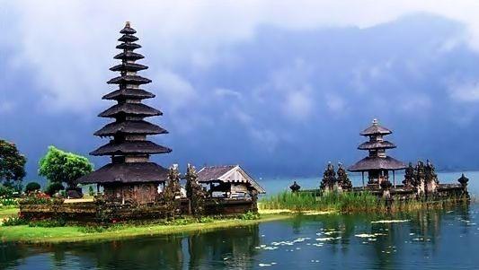 Lake Bratan, Bedugul, Bali - Indonesia.