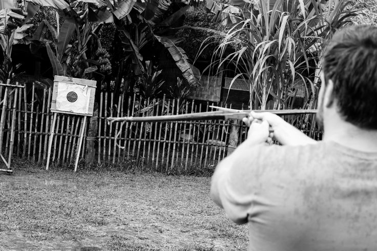 Archery fun for a rustic mountain wedding #HoiAnEventsWeddings #HoiAn