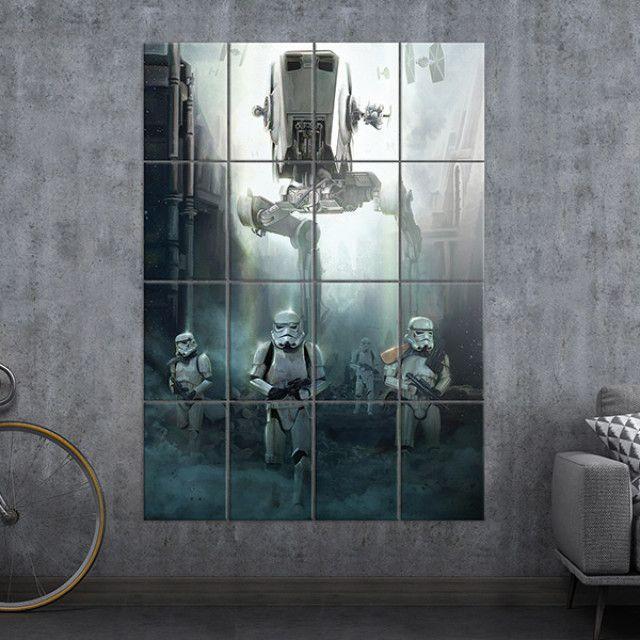 Stormtrooper Multidisplate Displate Starwars Multiplate Wallart Star Wars Poster Cool Artwork Artwork