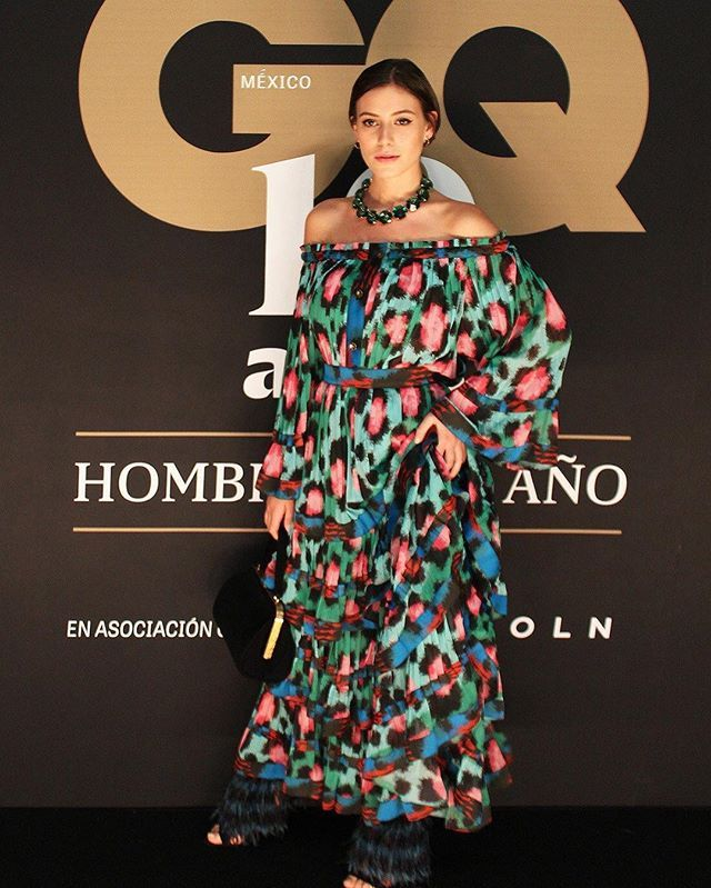 Last night at the @gqmexico awards celebrating their 10th anniversary ✨... wearing @kenzo @hm #kenzoxhm @luisvitonparis styled by the amazing @betoescamilla and @blancopop ✨