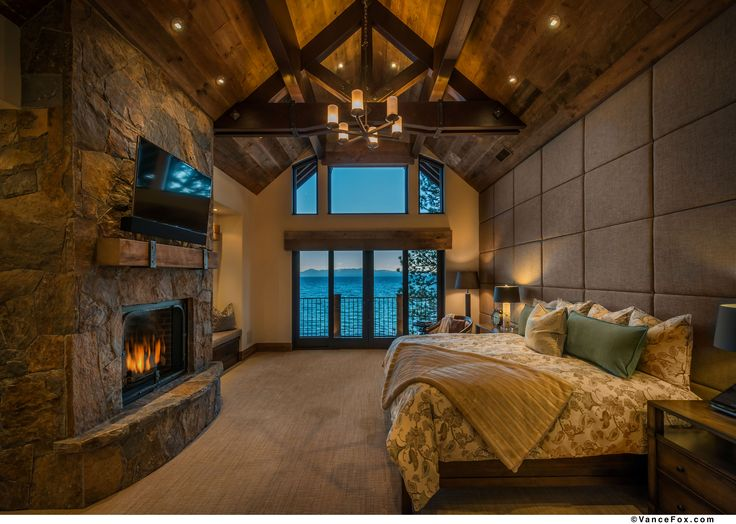 North Shore Lake Tahoe custom home built by NSM Construction.