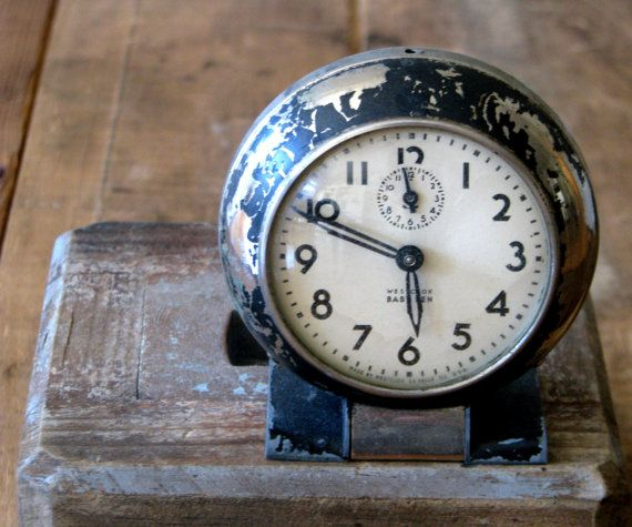 196 best hickory dickory dock images on pinterest antique clocks vintage baby ben clock classic farmhouse decor fandeluxe Choice Image