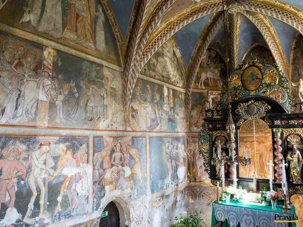 freska, Ochtiná