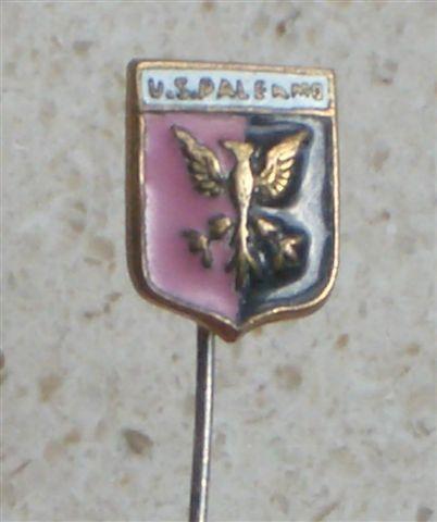 US PALERMO - soccer Italy OLD ENAMEL PIN football badge calcio distintivo Italia