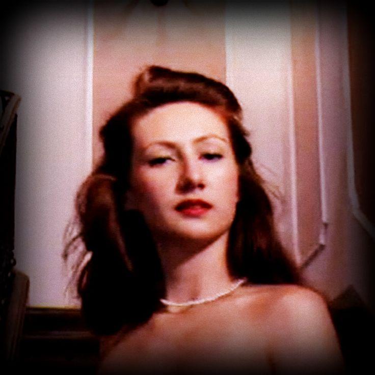 "stylizacja a'la Rita Hayworth, ""Gilda"" 1946"
