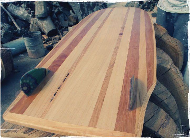 Wawa paipo wood handmade surfboard southafrica alaia How to make designs in wood