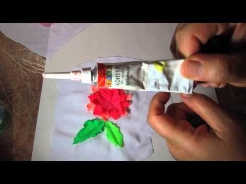 как сделать объёмные цветы на костюме для гимнастики — видео NofolloW.Ru