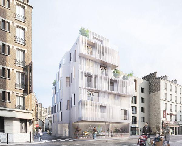 17 logements sociaux à Paris par Avenier-Cornejo Architectes