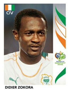 202 Didier Zokora - Cote D'Ivoire - FIFA World Cup Germany 2006