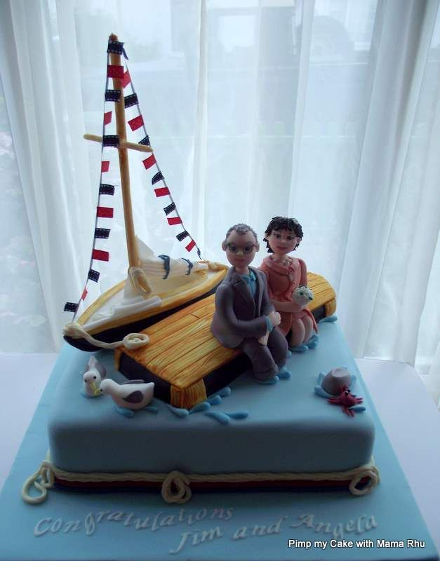 Best 25+ Boat cake ideas on Pinterest
