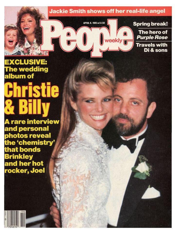 Dreamboat Wedding: Billy Joel and Christie Brinkley
