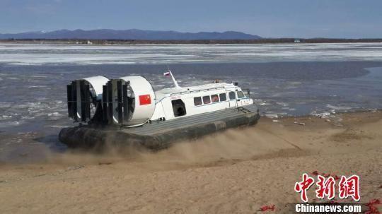 Hovercraft in Heihe China