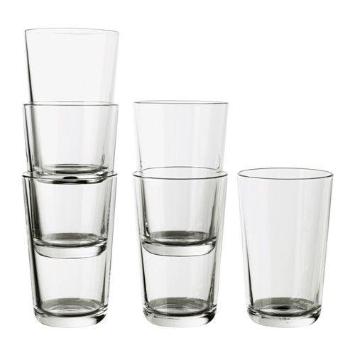 IKEA 365+ Glas, Klarglas Klarglas 45 cl
