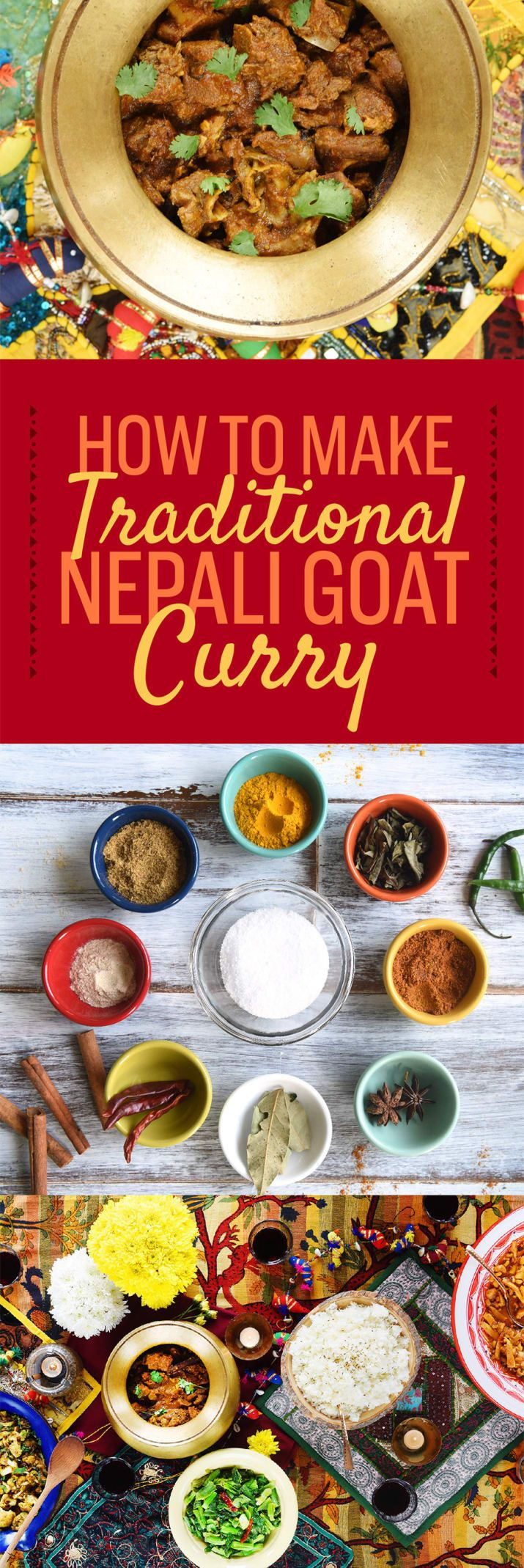I am obsessed with goat curry. In Nepal, I would wait for my mother to serve it with a heap of rice almost every Saturday. When I would travel, nothing was more important than finding a lunch-stop serving goat curry with all-you-can-eat rice and ghee. During festivals, I would refuse to touch vegetables because, well, who wants to eat vegetables when your father has cooked a whole goat?But when I came to America for college, if I wanted Nepali food I had to cook it myself. In this essay, I…