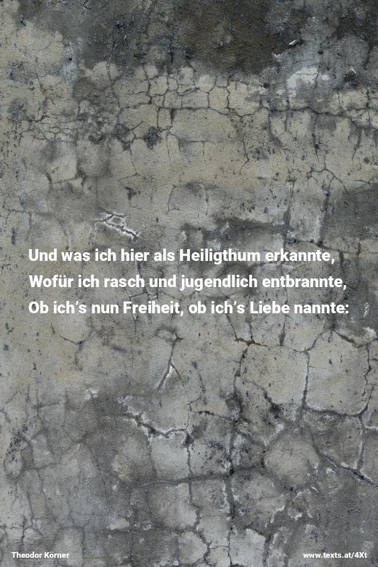 """Viel goldne Bilder sah ich um mich schweben... aus """"Abschied vom Leben"""" von Theodor Körner https://www.texts.at/4Xt  #Gedicht #Körner #Leben"""