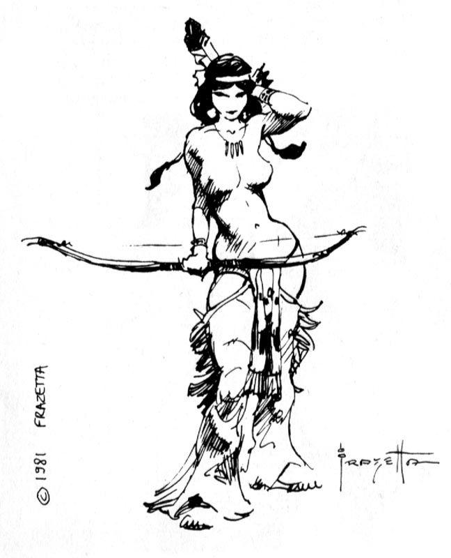 frank frazetta bw 063.jpg by Comic & Fabtasy Master, Frank Frazetta
