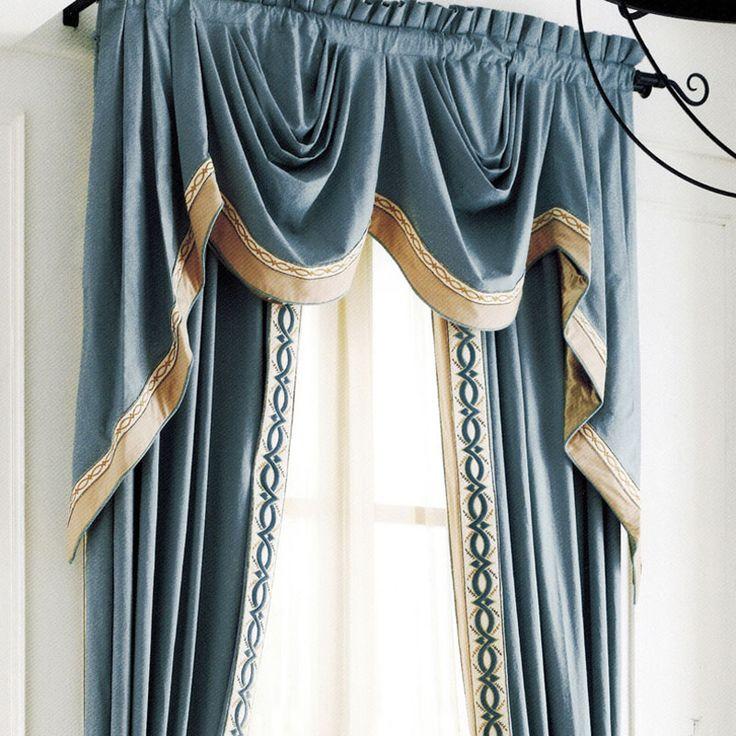 66 best Blue images on Pinterest | Market price, Custom curtains ...
