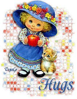 animated hugs and kisses   Graphics » Kisses hugs