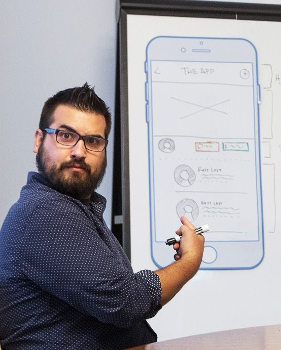 Giant iPhone Whiteboards...that you can stick anywhere.  Every mobile designer needs one!