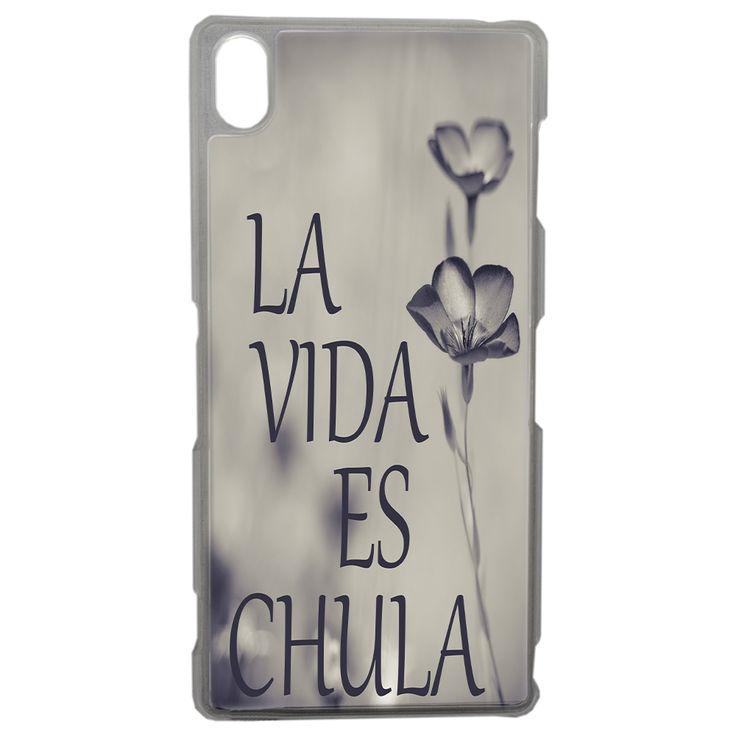 #accessoiremobile  Coque Originale La Vida Es Chula Sony Xperia Z3 - Xperia Z3/COQUES RIGIDES - CoCleo - Grossiste en Accessoires pour Smartphone