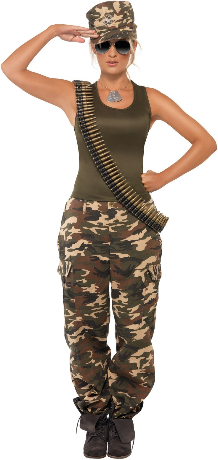Can't go wrong with camo and #DuckDynasty! #Halloween http://www.buycostumes.com/p/801111/khaki-camo-lady-adult-costume