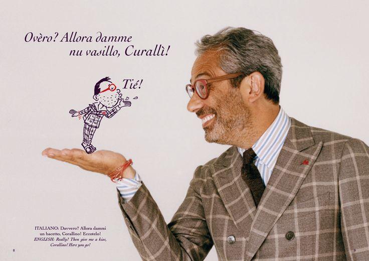 Corallino e Gianluca Isaia double page