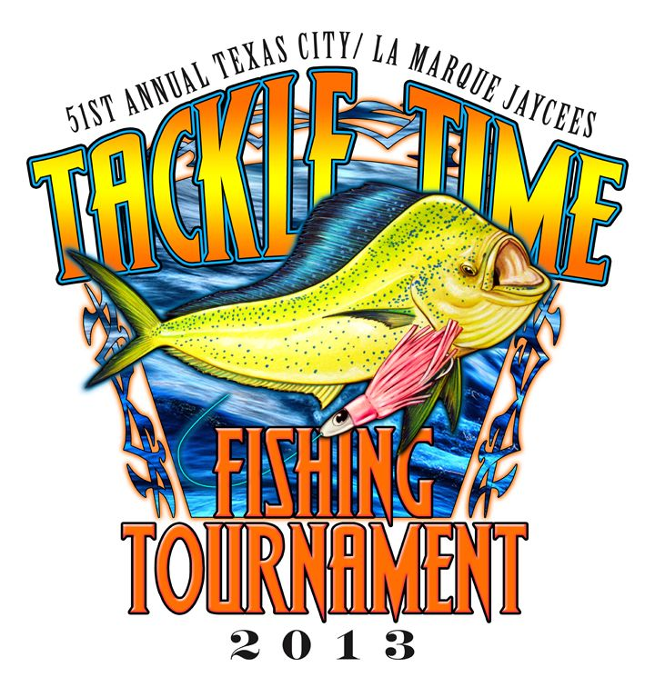 Tackle time fishing tournament 2013 texas city dike in for Texas city fishing