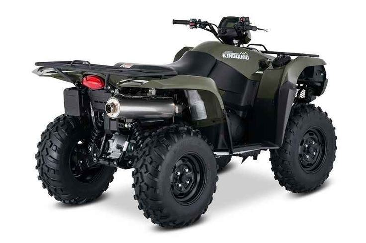 New 2017 Suzuki Kingquad 750Axi ATVs For Sale in Michigan. 2017 Suzuki Kingquad 750Axi, In 1983, Suzuki introduced the world's first 4-wheel ATV. Today, Suzuki ATVs are everywhere. From the most remote areas to the most everyday tasks, you'll find the KingQuad powering a rider onward. Across the board, our KingQuad lineup is a dominating group of ATVs. Taking advantage of Suzuki's three-decades-plus experience with four-wheelers, the 2017 Suzuki KingQuad 750AXi is designed for phenomenal…