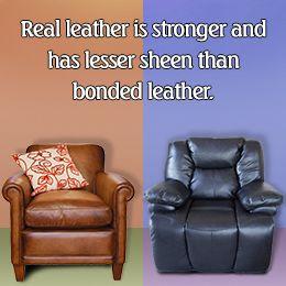 Bonded Leather Vs. Genuine Leather Furniture