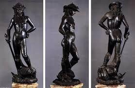 DONATELLO, David Museo del Bargello, 1440 statua in bronzo