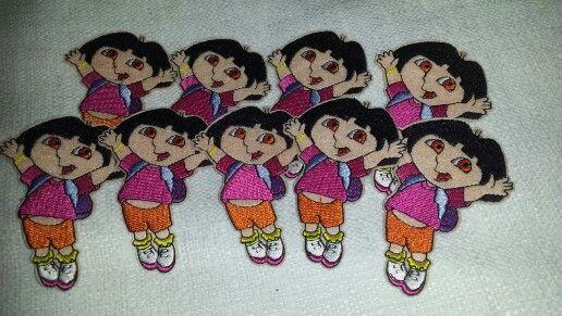 Dora Iron Ons -$1.00 each
