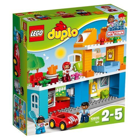 Superb LEGO DUPLO Town Family House 10835 Now At Smyths Toys UK! Buy Online Or Collect At Your Local Smyths Store! We Stock A Great Range Of LEGO Duplo At Great Prices.