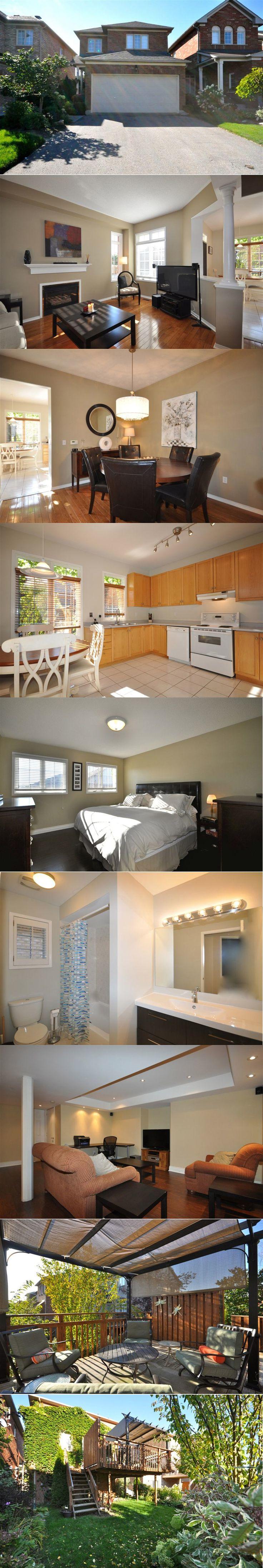 Sold For $489,000 24 Trent St. Aurora, Ontario Building Type : Detached Bedrooms : 3+1 Bathrooms : 3 Aurora Real Estate 98% Of List
