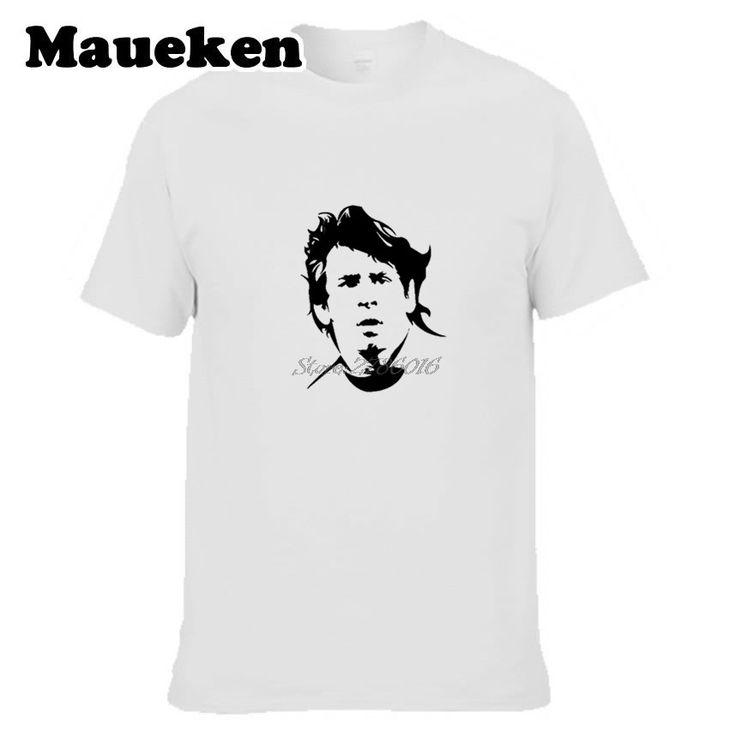 Men's Lionel Messi T-shirt Short Sleeve T Shirt Men casual 100% Cotton W0901020 #Affiliate