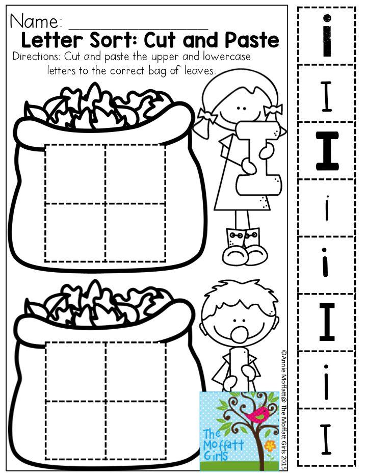 November Fun-Filled Learning Resources   Letter sort ...
