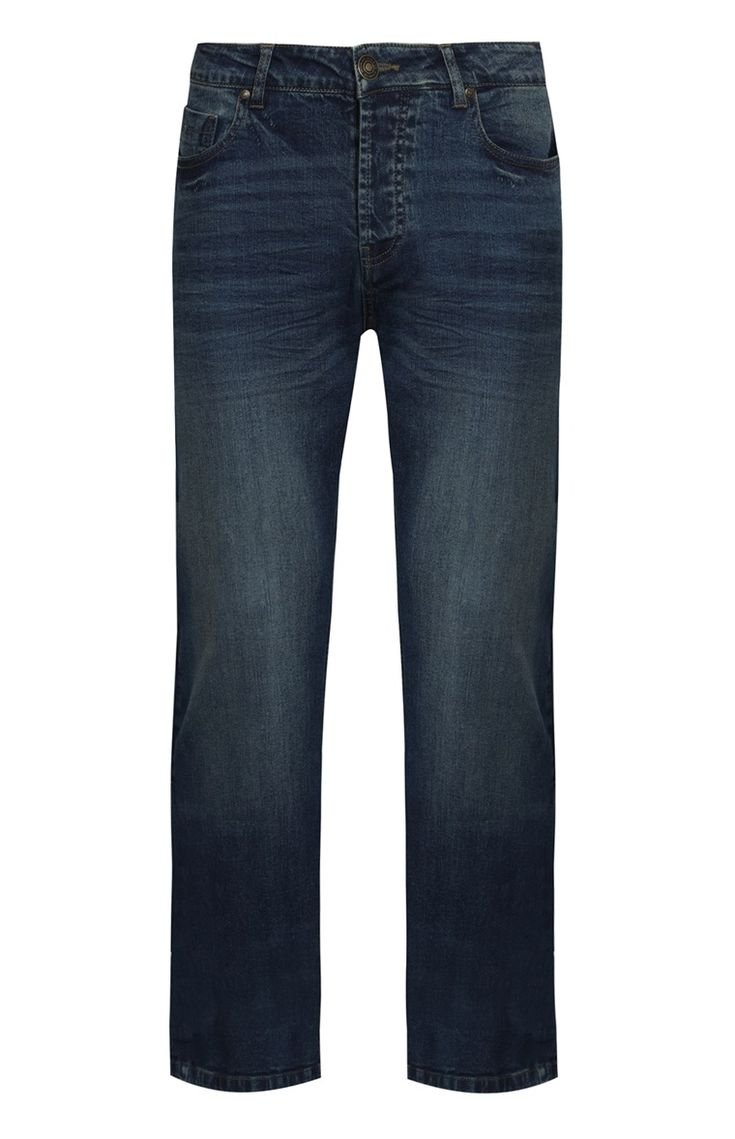 Primark - Jean bleu vintage coupe droite