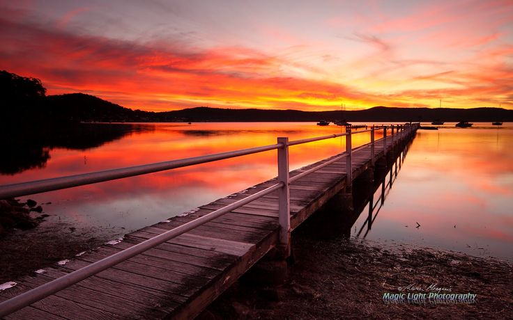 Yattalunga Sunset April 2014 by Kevin Morgan on 500px