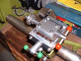 木工旋盤WT-300用 自作ネジ切りジグ