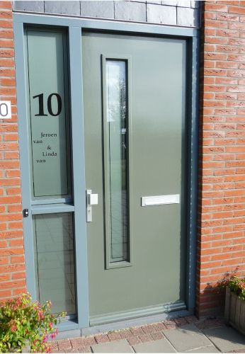 raamfolie voordeur - Google zoeken