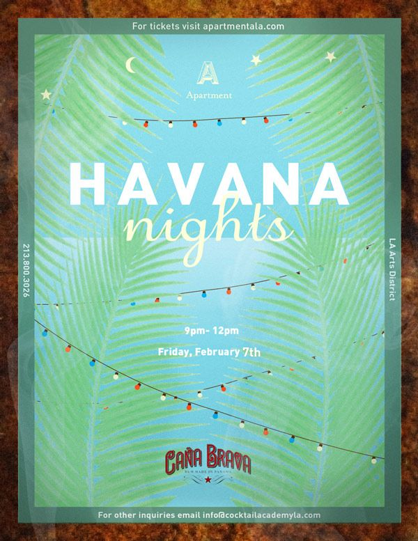 havana themed party invitations - Google Search                                                                                                                                                     More