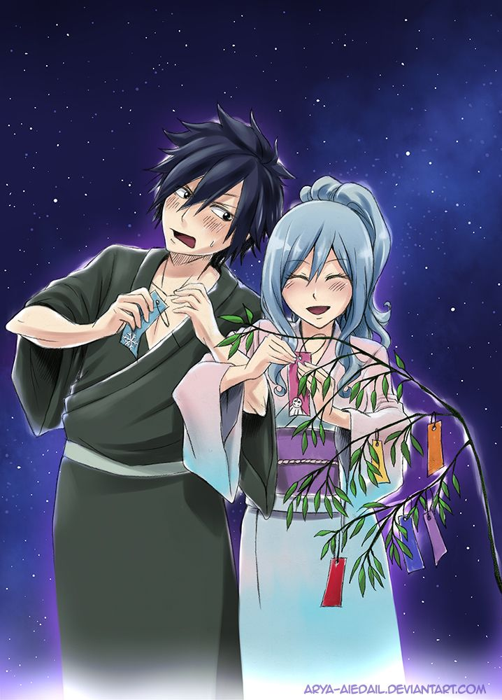 tanabata in anime