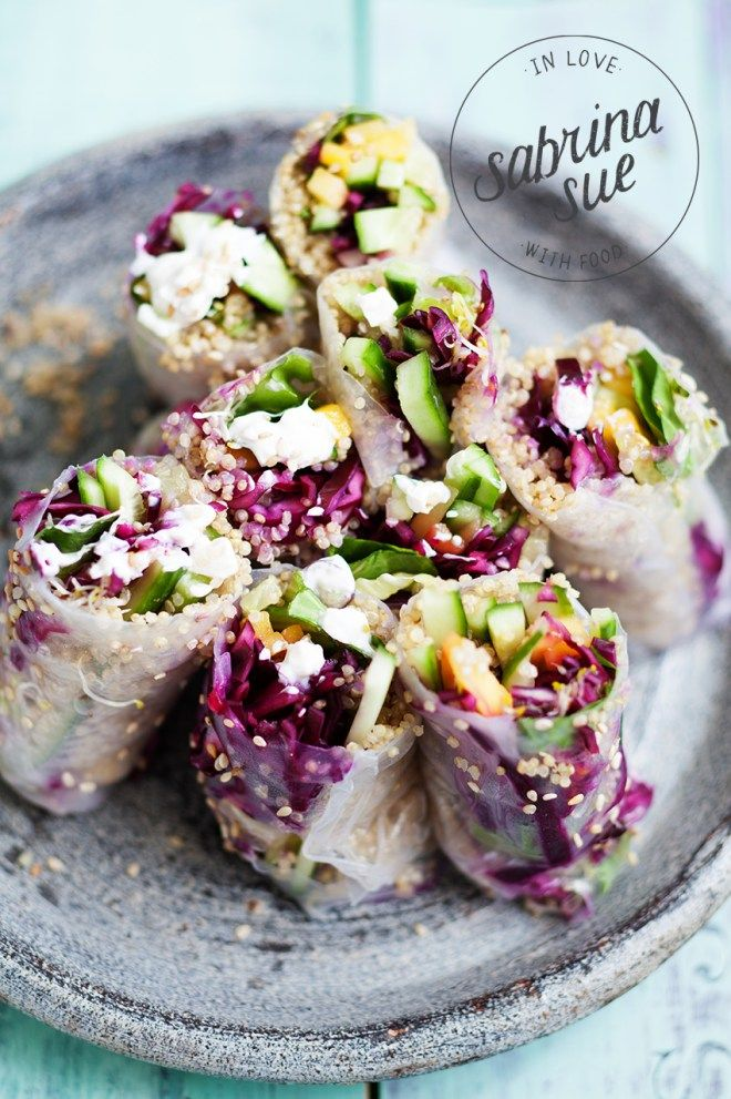 Mango Quinoa Quinoa Summer Rolls (scheduled via http://www.tailwindapp.com?utm_source=pinterest&utm_medium=twpin&utm_content=post82009975&utm_campaign=scheduler_attribution)