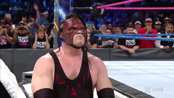 You NEVER know when Kane will REMERGE on WWE SmackDown Live...