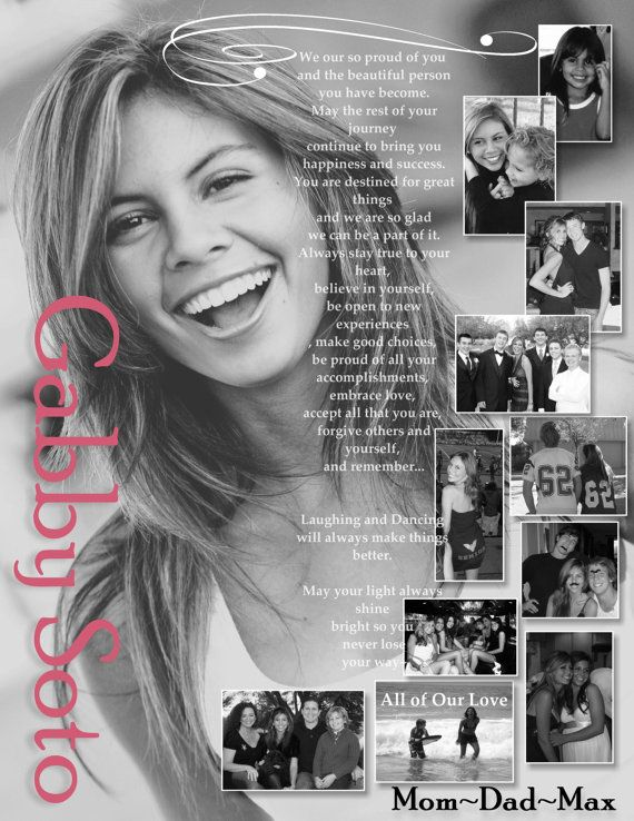Custom Personalized Photo Senior Yearbook by Stonelovedesigns