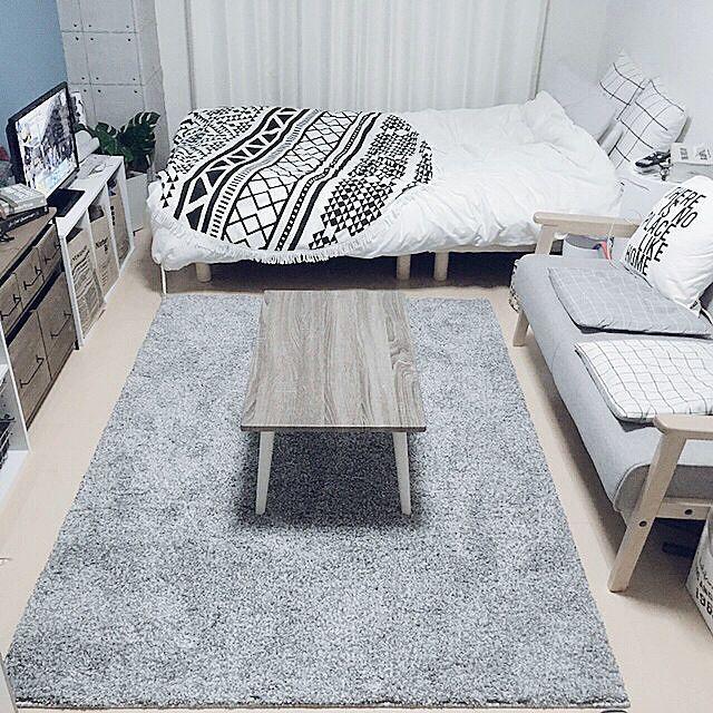 6畳1kのレイアウトのコツ 部屋の形別のインテリア実例55選 Yotsuba よつば インテリア 家具 狭い部屋 インテリア 部屋